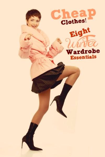 Cheap clothes   8 winter wardrobe essentials