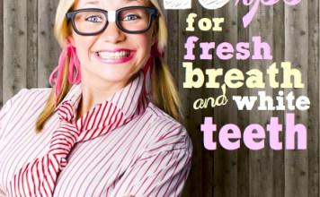 Bad breath | 19 tips for fresh breath and white teeth