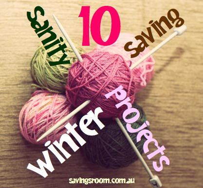 Cheap entertainment | 10 sanity saving winter projects