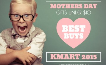 Mothers Day Gifts Under $10 (Best Buys KMART 2015)