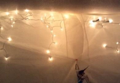 Bedroom Wall Christmas Lights