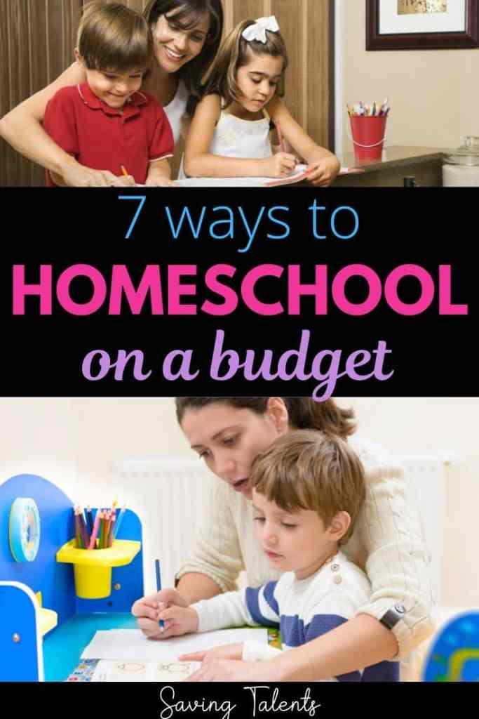 7 Ways to Homeschool on a Budget