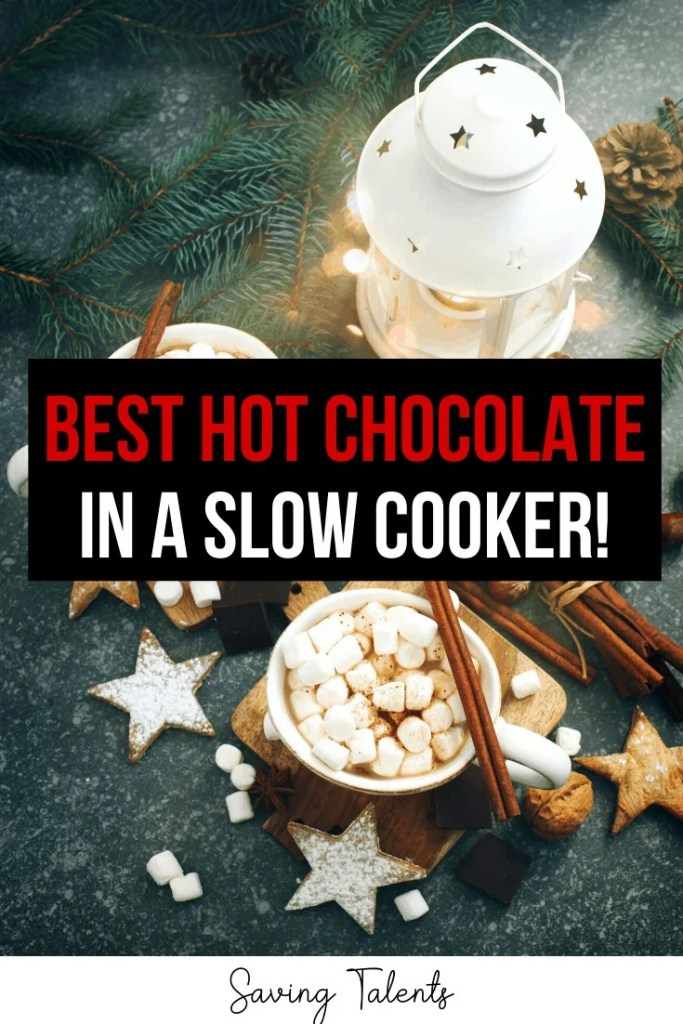 The World's Creamiest, Most Delicious Hot Chocolate (in a Slow Cooker!)