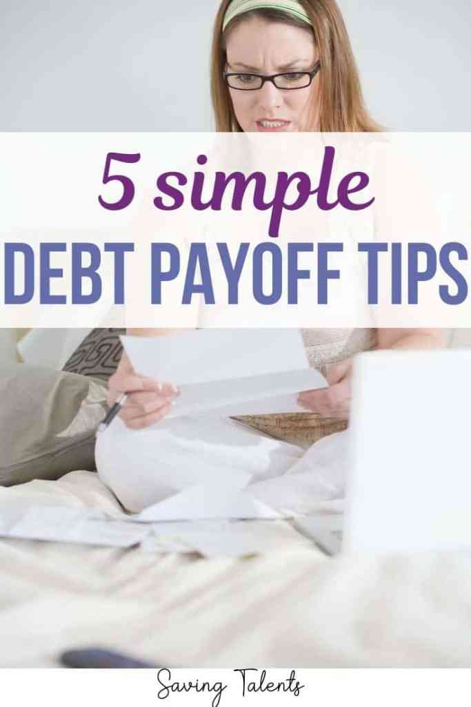 5 Simple Debt Payoff Tips