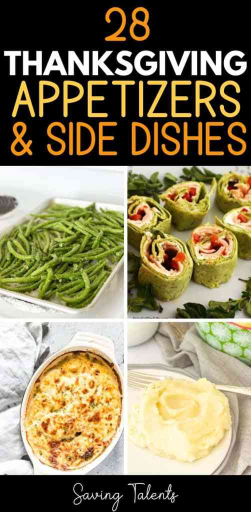 Thanksgiving appetizer or side dish