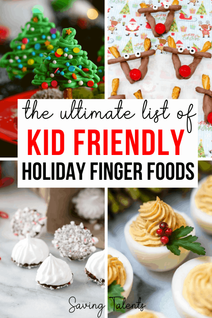 34 Festive Finger Foods for Christmas Parties that Kids Will Love