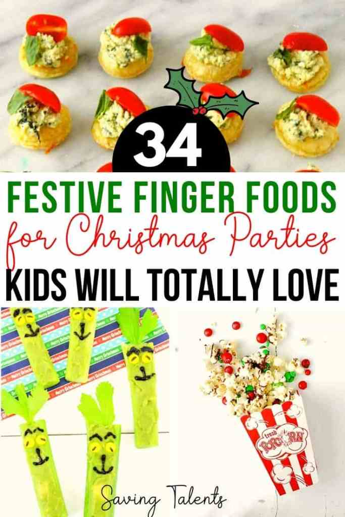 It's a perfect Christmas finger food!