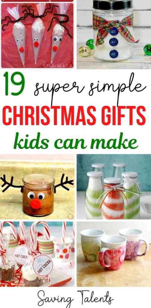 easy christmas gifts kids