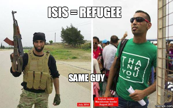 ISIS = Refugee