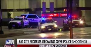 Dallas Police Officers Shot During Protest 1