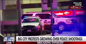 Dallas Police Officers Shot During Protest