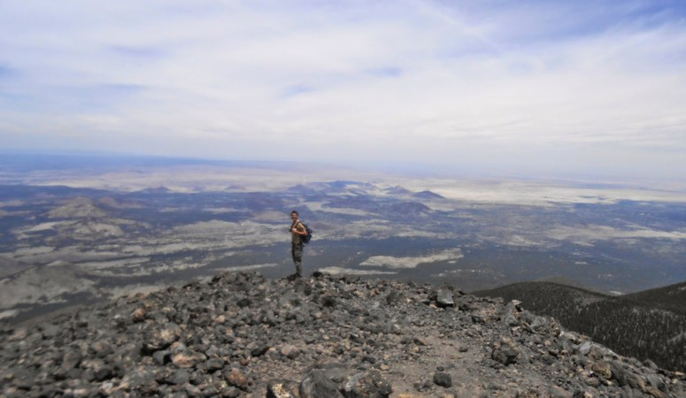 Hiking Mount Humphreys in Flagstaff, AZ, the State High Point of Arizona