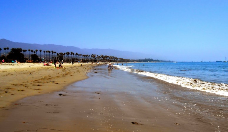 Visiting Santa Barbara California in the summer