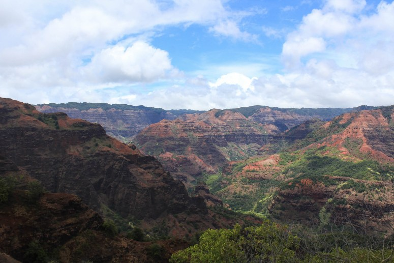 Backpacking Waimea Canyon Kauai hiking the Kukui Trail