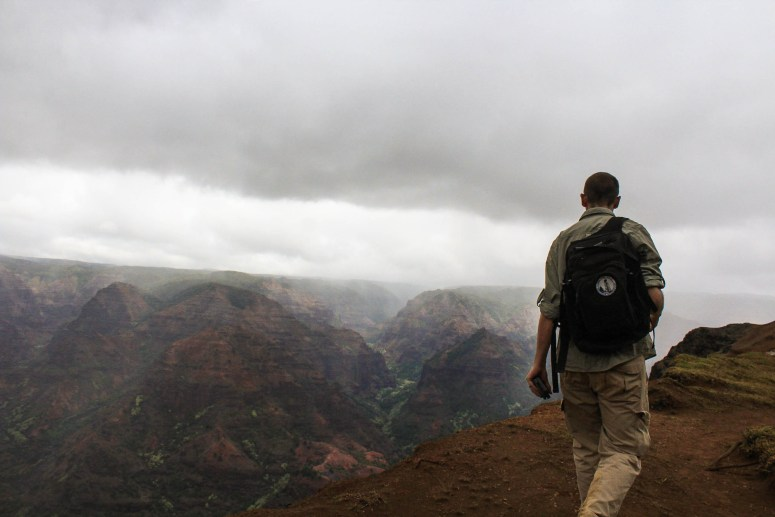 Backpacking Waimea Canyon Kauai August 2018