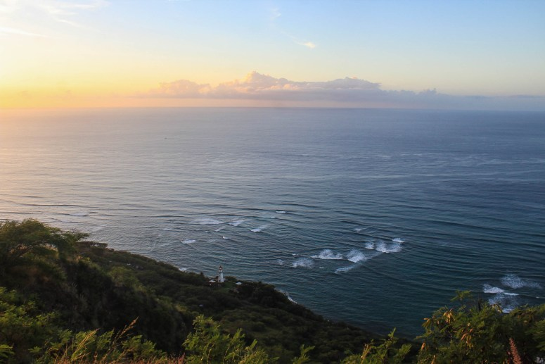 Sunrise on Diamond Head