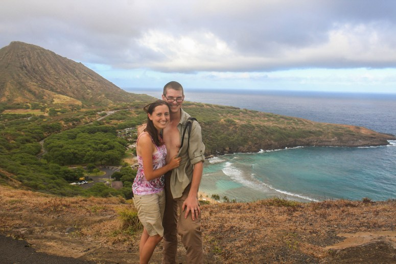 hiking koko head at sunset honolulu oahu hawaii hanauma bay ridge trail independence day 2018