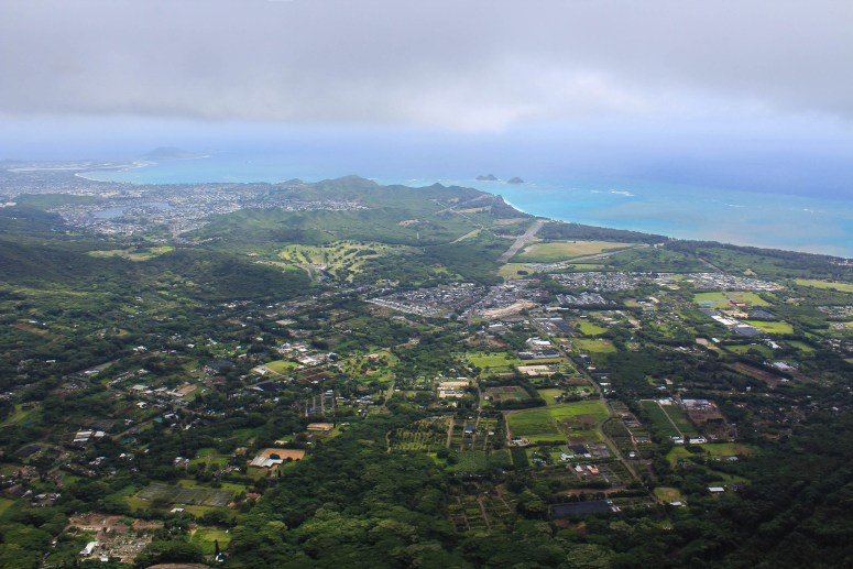view of windward side of oahu hiking kulepeamoa ridge loop trail honolulu hawaii beautiful obscure windward oahu hike