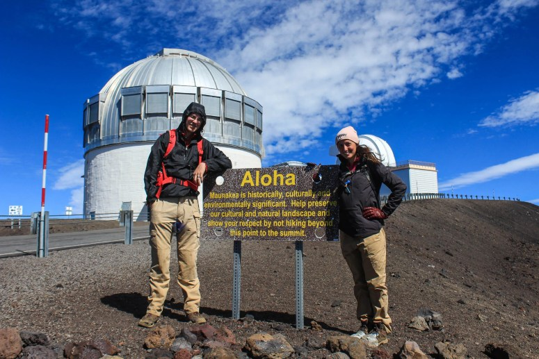 Hiking Mauna Kea, the highest point in Hawaii