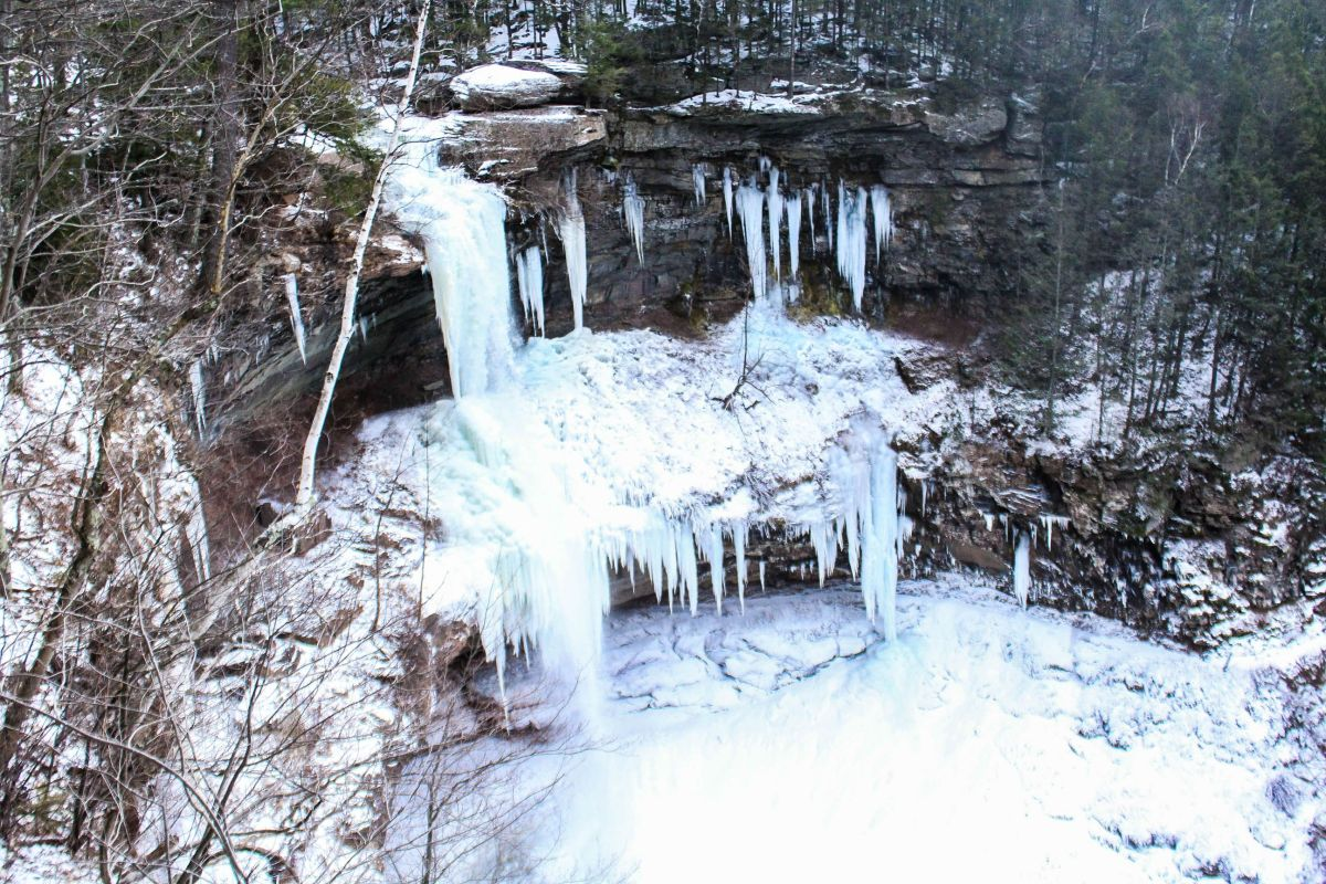 Kaaterskill Falls in the Winter