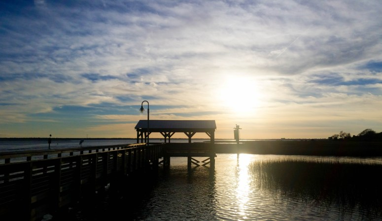 Shem Creek Park // First 12 Hours in Charleston