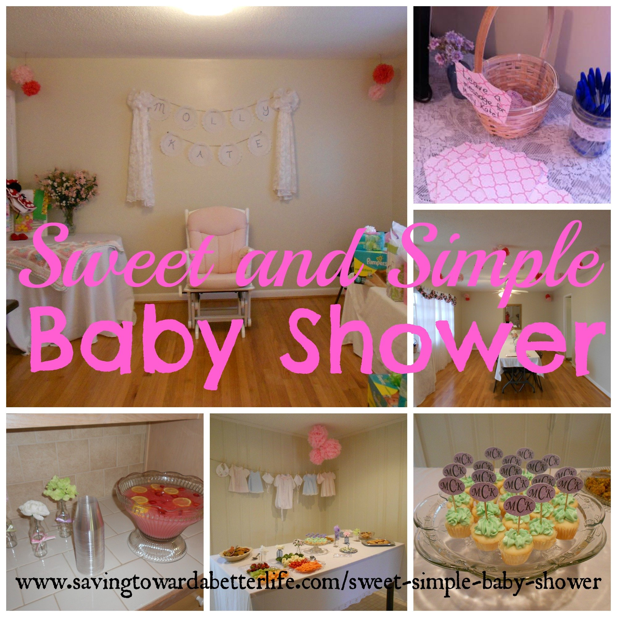 Sweet and Simple Baby Shower Ideas