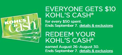 kohl s labor day