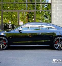 savini wheels black di forza bm10 audi s5  [ 1280 x 853 Pixel ]