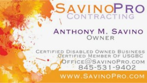 SavinoPro Business Card