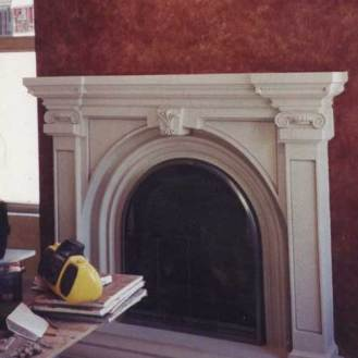 Armonk Faux Finish Wall