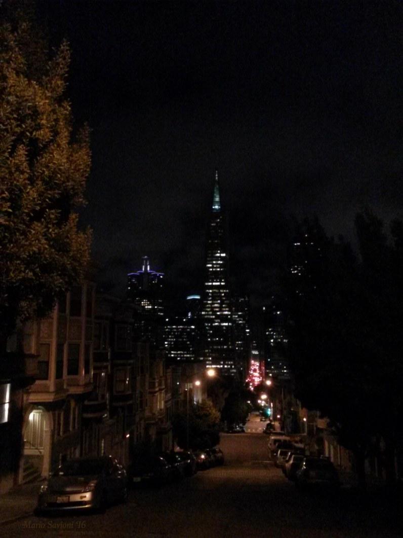 San Francisco toward triangle building copy