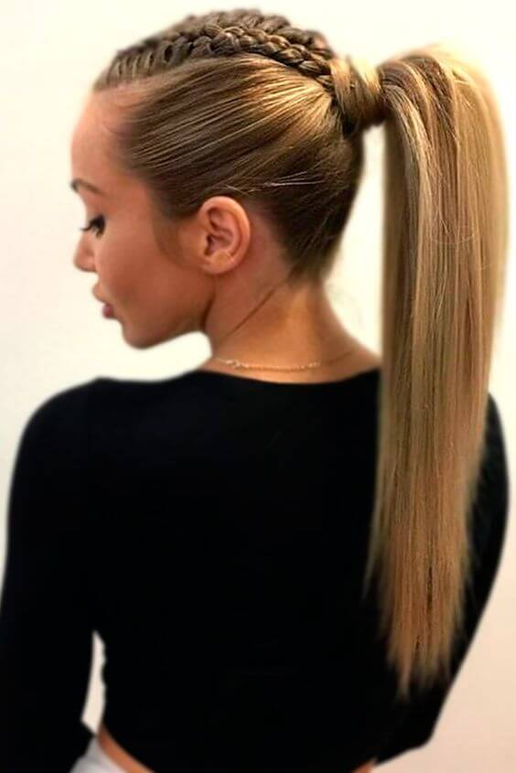 Horsetail: Hairstyle that can be used 7 days a week - 4