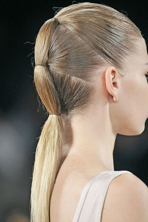 Stylish ponytail models for special nights - 3