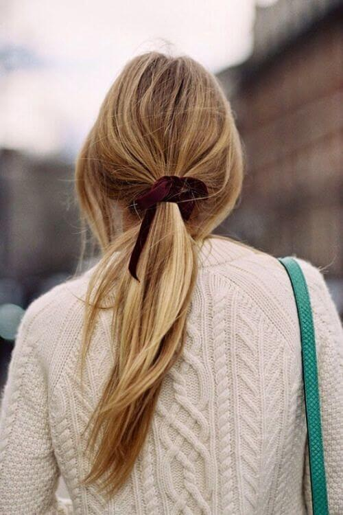 Stylish ponytail models for special nights - 4