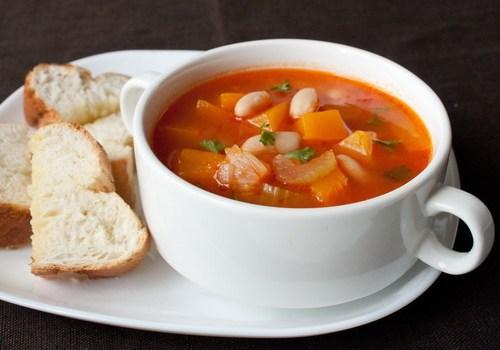 supa de naut cu legume