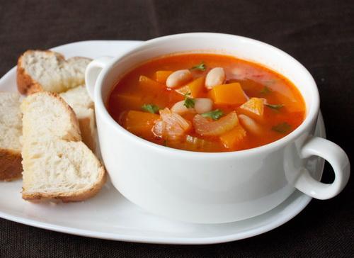 Supa de naut cu legume, Preparat de post