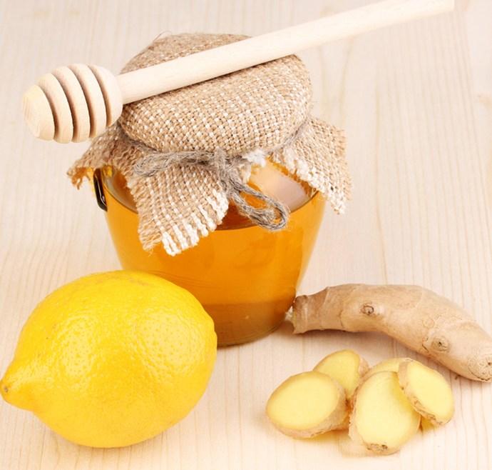 Reteta ghimbir, miere si lamaie – Elixir anti raceala