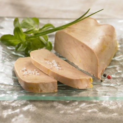 Recipe for foie gras