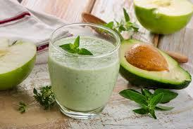 Shake de slabit cu iaurt si avocado