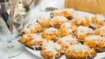 Crostini with pumpkin