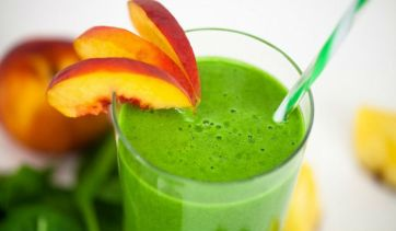 Shakes with spinach, in weight loss