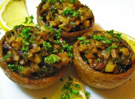 ciuperci de post la cuptor)