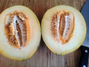 Inghetata de pepene galben
