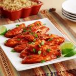 Spicy chicken breast, sweet and sour