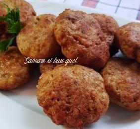 chiftelute din carne de pui