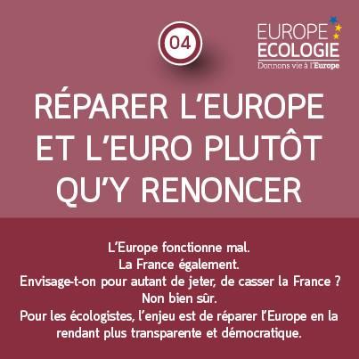 Réparer l'Europe