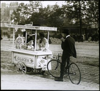 louis vert, Paris circa 1900 © Louis Vert Société française de photographie