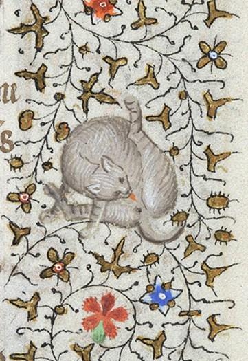 Heures de Charlotte de Savoie, Paris, 1425, Morgan Library MS M.1004, fol.172r.