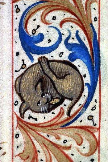 Livre d'Heures à l'usage de Chalon, Bibliothèque municipale de Lyon, Ms 6881, fol.30r, vers 1510.