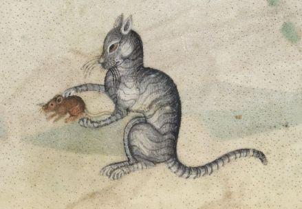 Psautier de Luttrel (XIVes.), British Library Add MS 42130, f.190r.